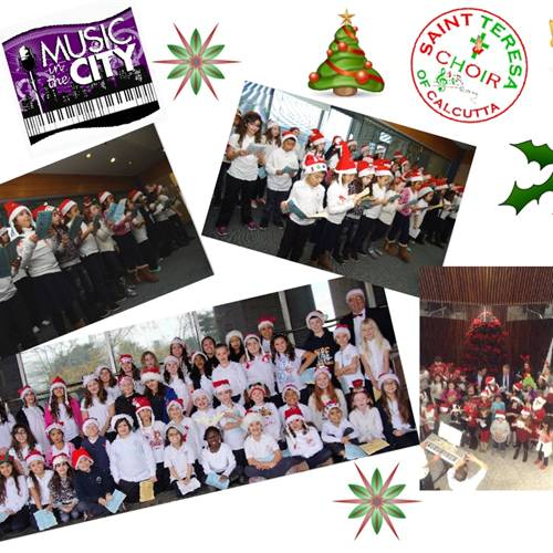 CHOIR AT HAMILTON CHRISTMAS MUSIC IN THE CITY 2017