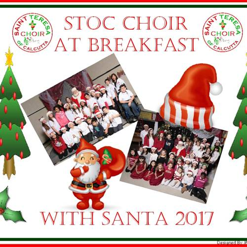 Choir Will Sing at Breakfast With Santa