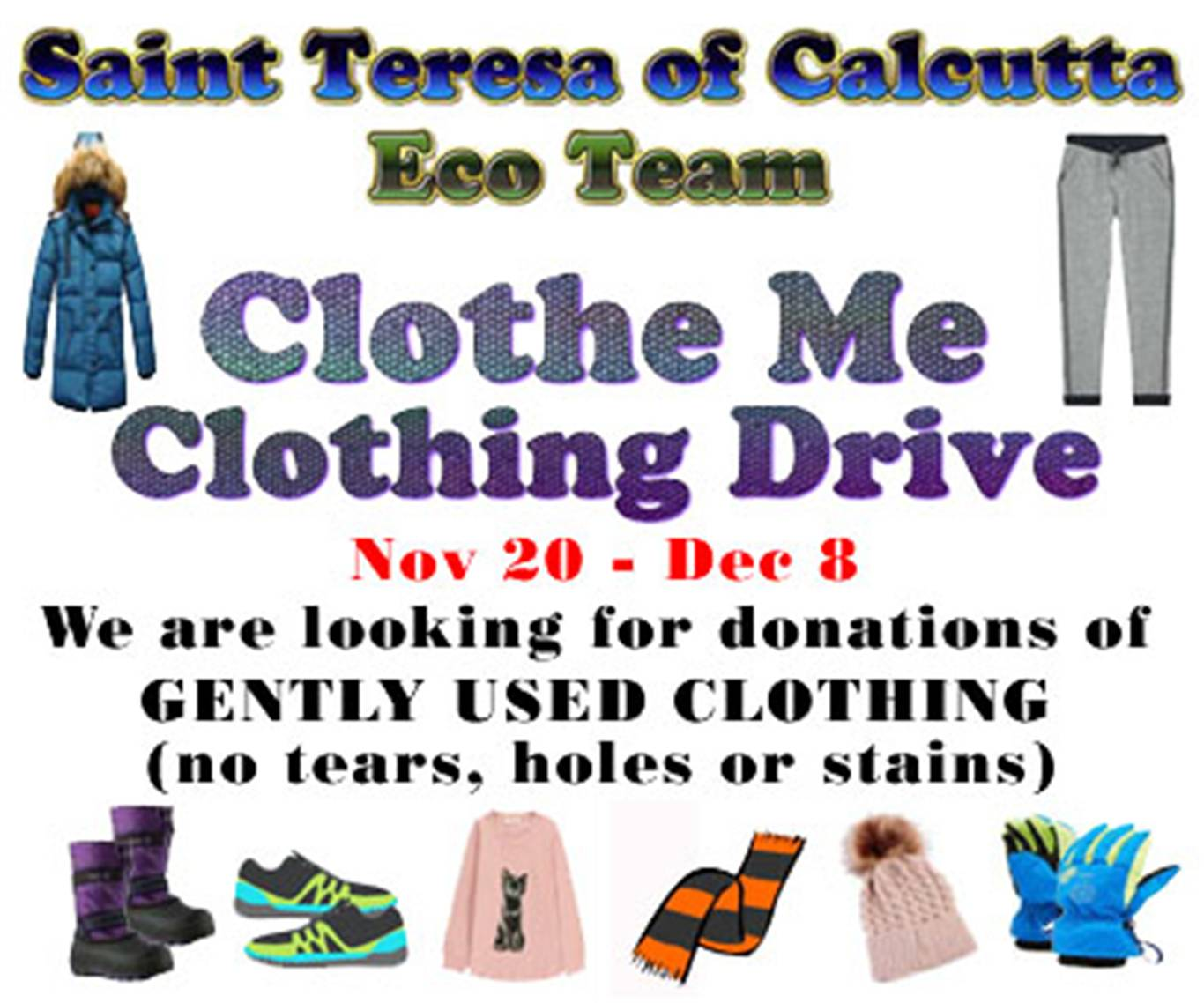 Super-Eco Team & Clothe Me