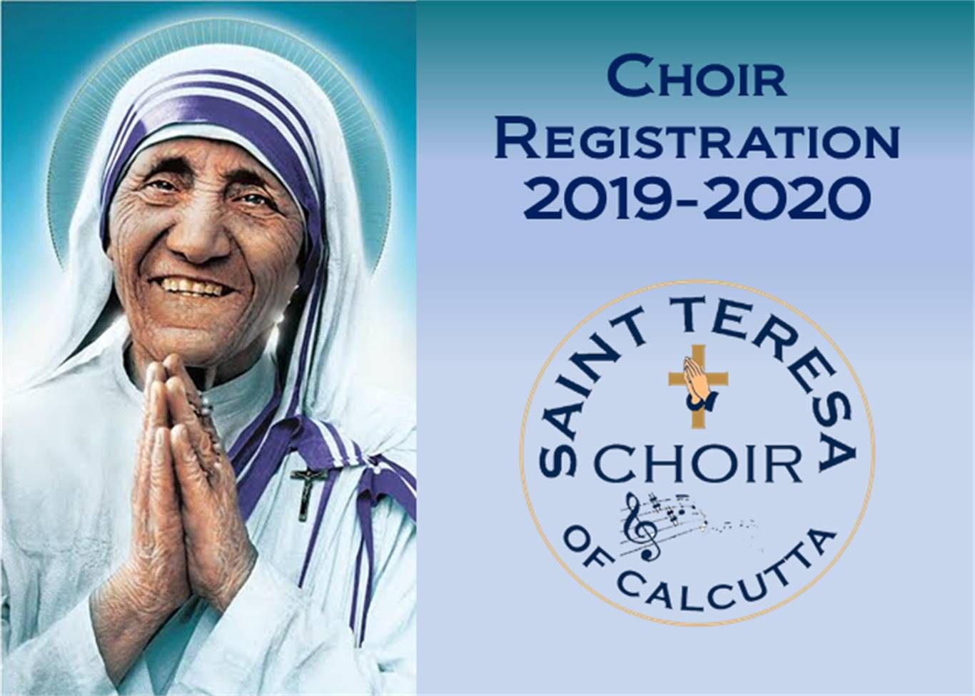CHOIR REGISTRATION 2019-2020