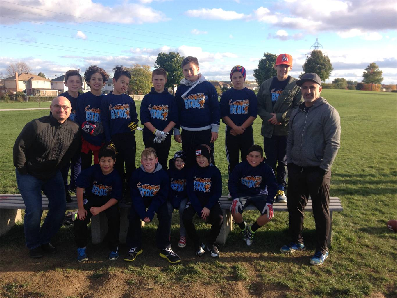 Jr. Boys Flag Football 2016-2017