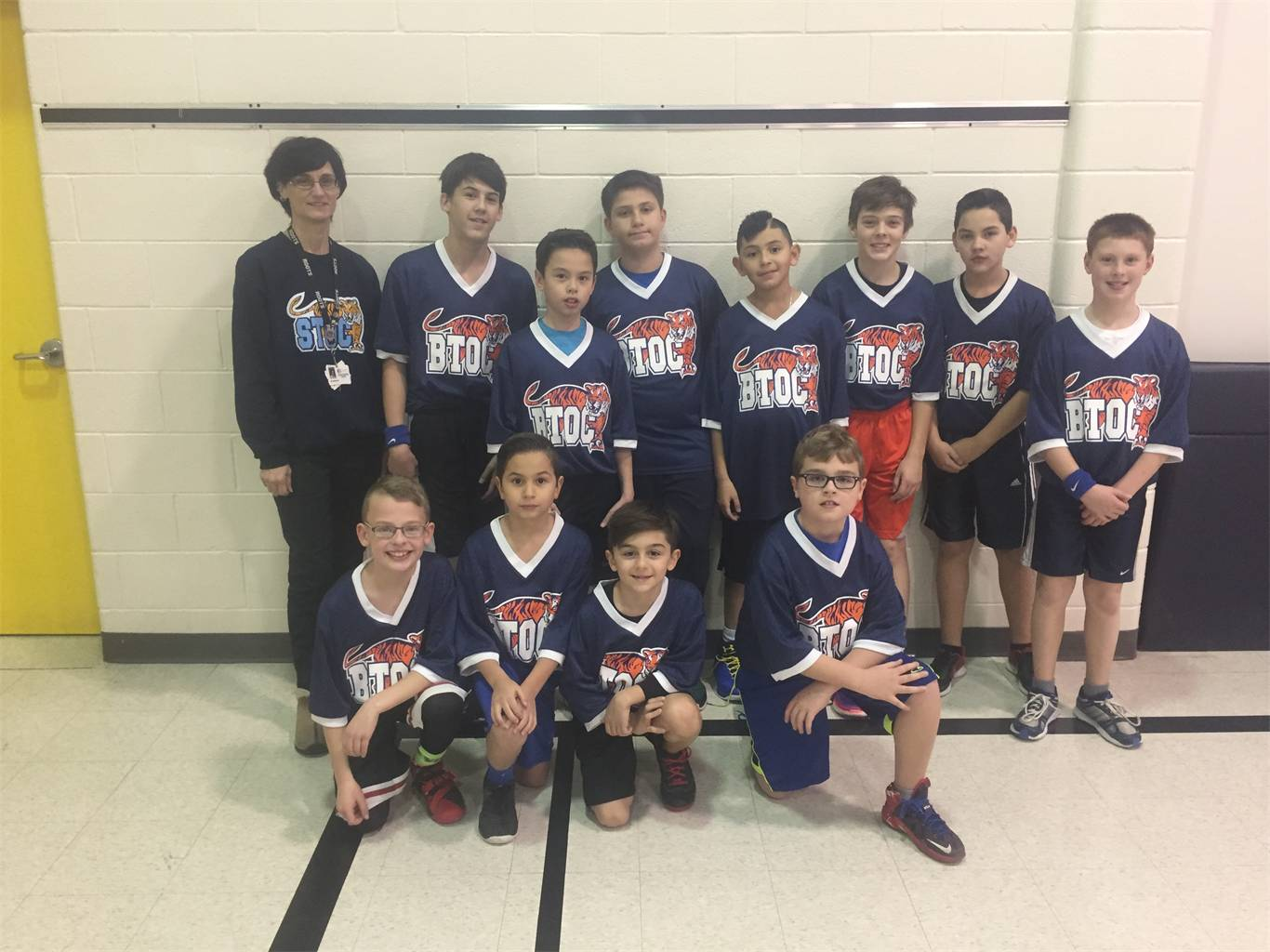 Jr. Boys Basketball Team 2016-2017
